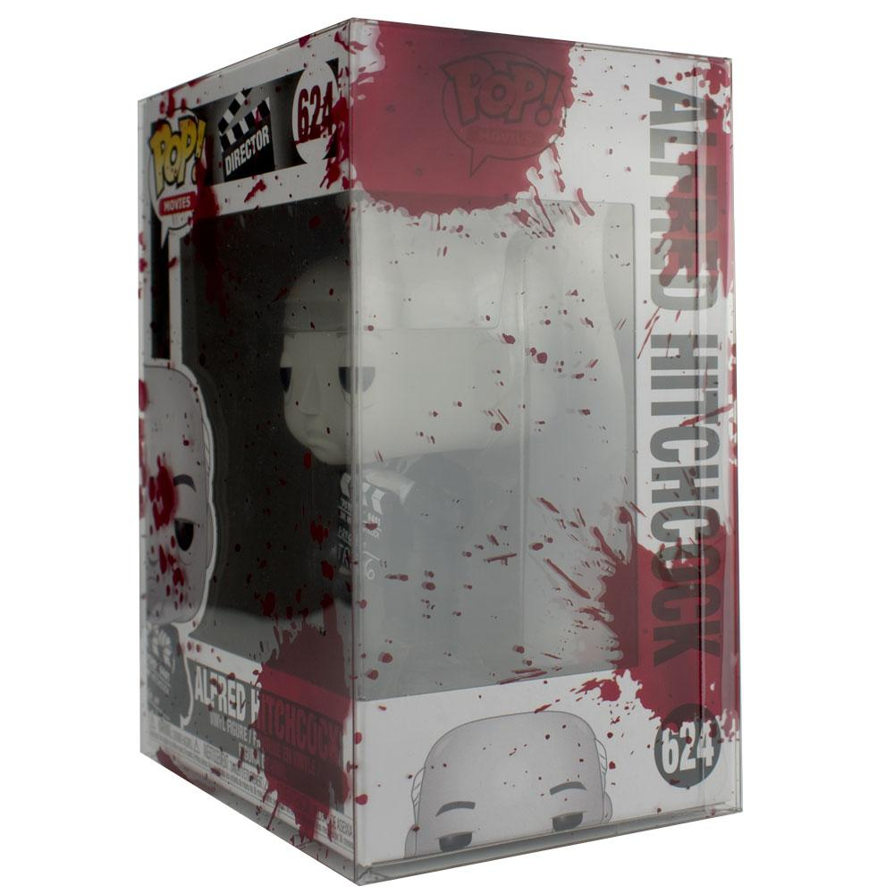 "Pop Vinyl Protector - PPJoe Pop Protectors 4"" Blood Splattered, 0.45mm Thickness, Funko Vinyl Protection [10 Pack]"