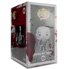"Pop Vinyl Protector - PPJoe Pop Protectors 4"" Blood Splattered, 0.45mm Thickness, Funko Vinyl Protection [5 Pack]"