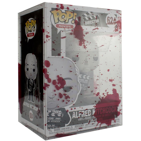 "Pop Vinyl Protector - PPJoe Pop Protectors 4"" Blood Splattered, 0.45mm Thickness, Funko Vinyl Protection [Single]"