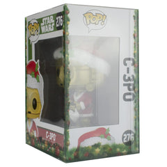 "Pop Vinyl Protector - PPJoe Pop Protectors 4"" Festive, 0.45mm Thickness, Funko Vinyl Protection [Single]"