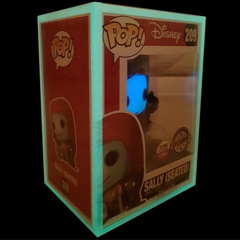 "Pop Vinyl Protector - PPJoe Pop Protectors 4"" Glow In The Dark, 0.45mm Thickness, Funko Vinyl Protection [Single]"