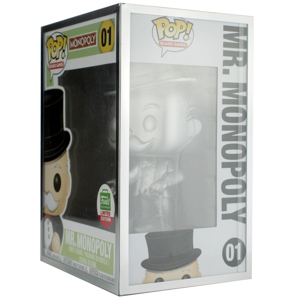 "Pop Vinyl Protector - PPJoe Pop Protectors 4"" Grail, 0.50mm Thickness, Funko Vinyl Protection [10 Pack]"