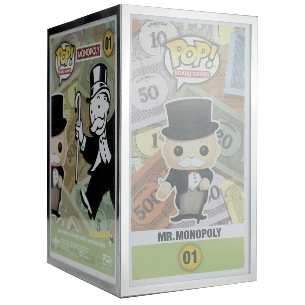 "Pop Vinyl Protector - PPJoe Pop Protectors 4"" Grail, 0.50mm Thickness, Funko Vinyl Protection [5 Pack]"