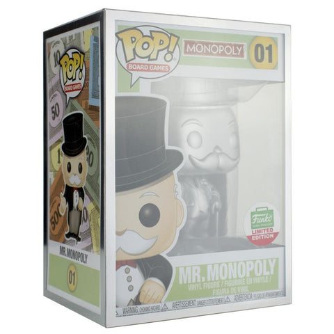 "Pop Vinyl Protector - PPJoe Pop Protectors 4"" Grail, 0.50mm Thickness, Funko Vinyl Protection [Single]"