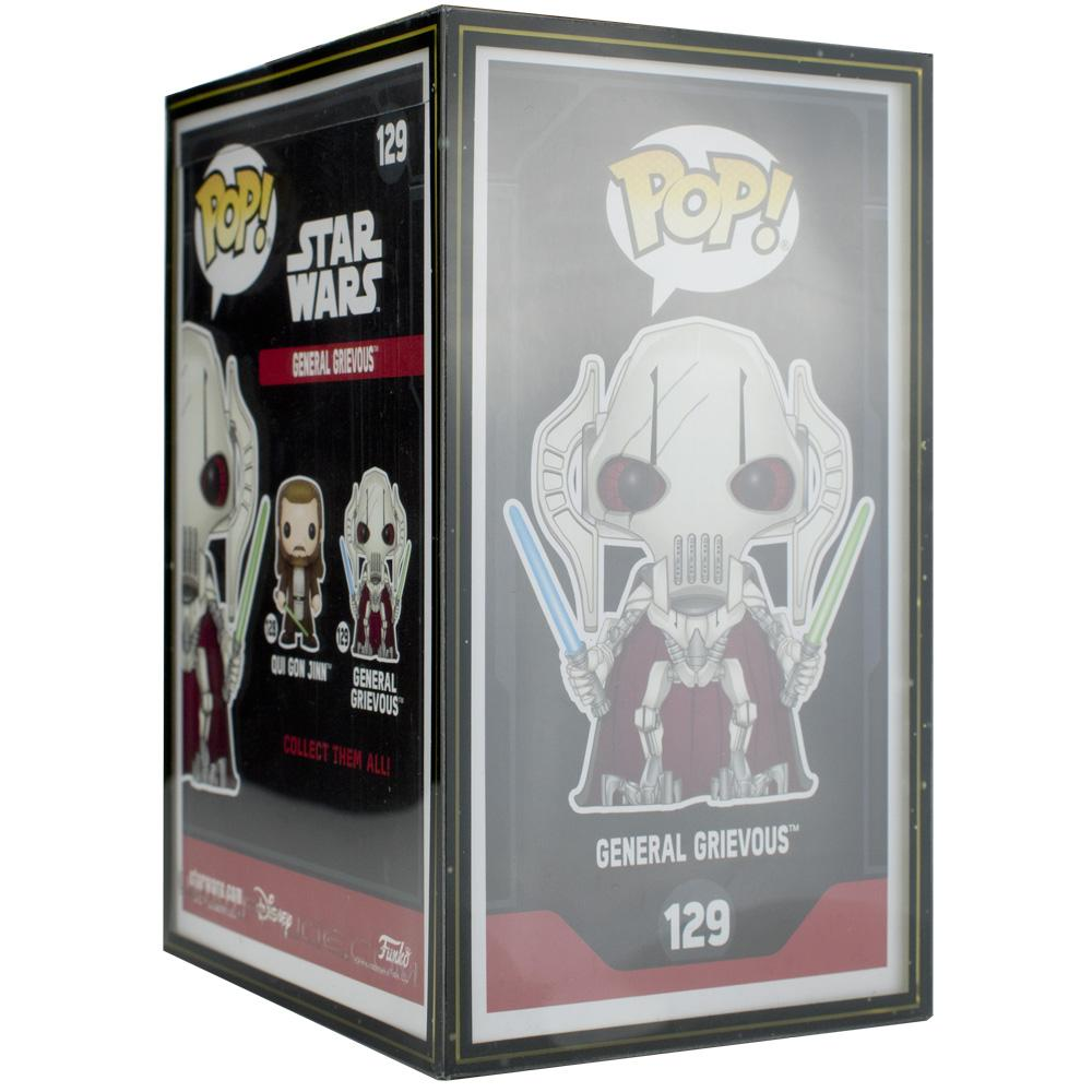 "Pop Vinyl Protector - PPJoe Pop Protectors 4"" Star Wars, 0.45mm Thickness, Funko Vinyl Protection [10 Pack]"