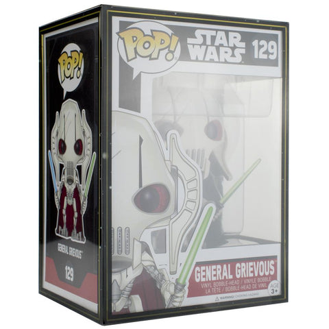 "Pop Vinyl Protector - PPJoe Pop Protectors 4"" Star Wars, 0.45mm Thickness, Funko Vinyl Protection [5 Pack]"