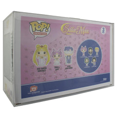 Pop Vinyl Protector - PPJoe Sailor Moon 3 Pack Pop Protector, Rock Solid Funko Vinyl Protection