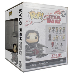Pop Vinyl Protector - PPJoe Star Wars Kylo Ren With Tie Fighter Pop Protector, Rock Solid Funko Vinyl Protection