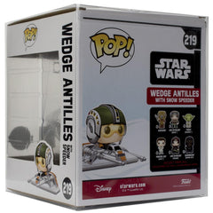 Pop Vinyl Protector - PPJoe Star Wars Wedge Antilles Pop Protector, Rock Solid Funko Vinyl Protection