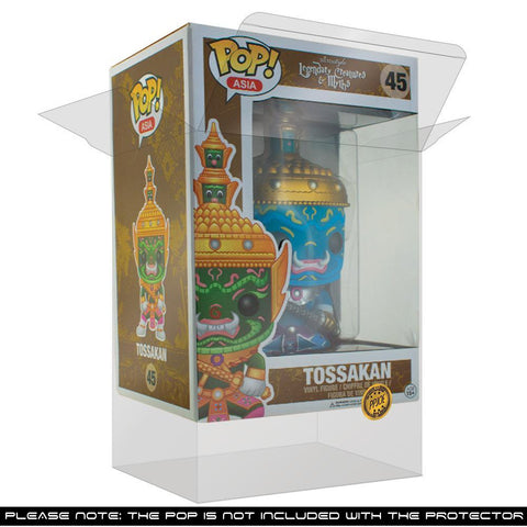 Pop Vinyl Protector - PPJoe Tossakan Pop Protector, Rock Solid Funko Vinyl Protection