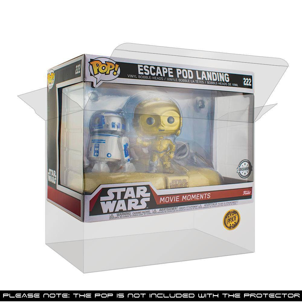 Pop Vinyl Protector - PRE-ORDER: PPJoe Movie Moments Pop Protector, Rock Solid Funko Vinyl Protection