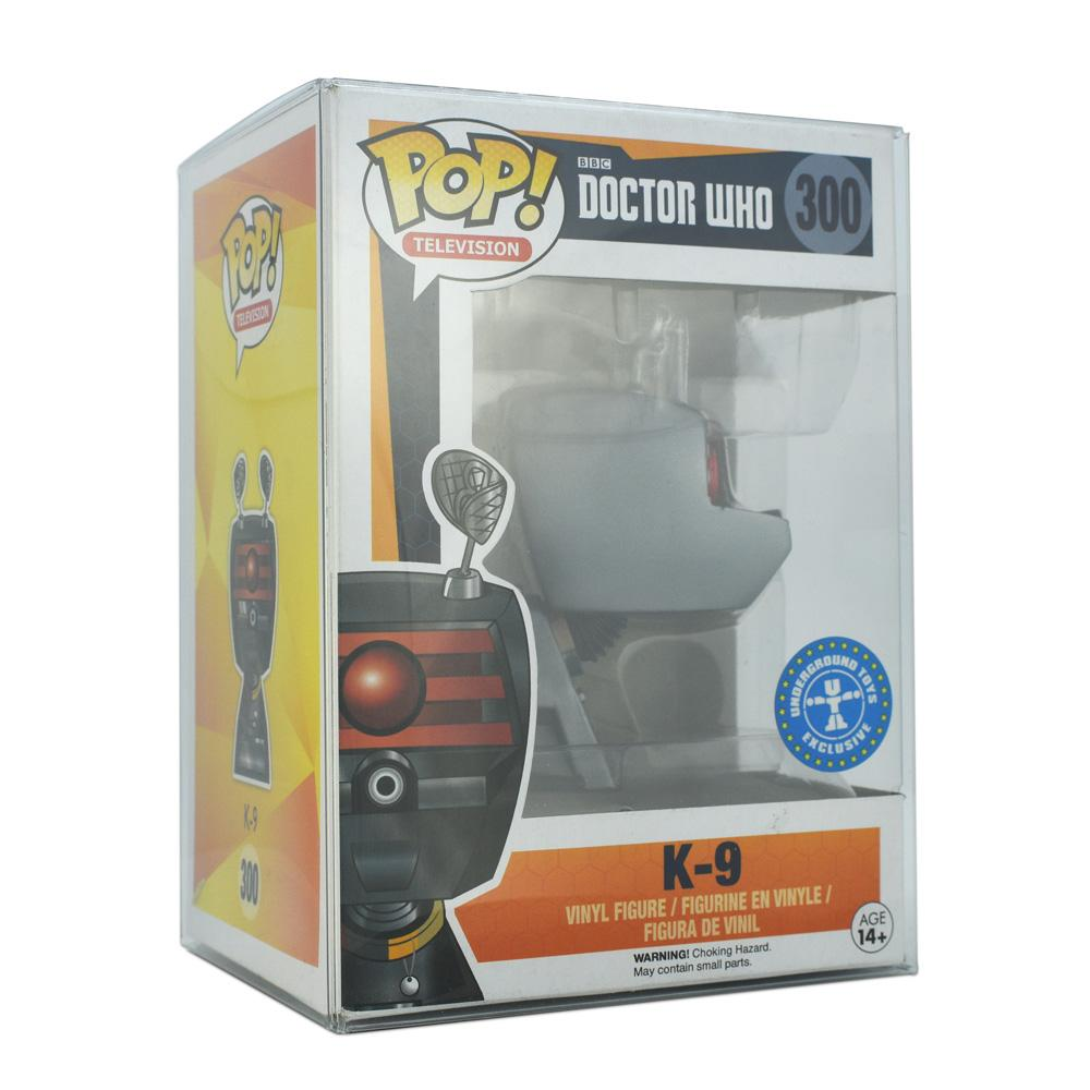 "Pop Vinyl Protector - PRE-ORDER: PPJoe Pop Protectors 4"" [0.45mm Thick], New Design, Funko Vinyl Protection [10 Pack]"