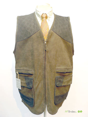 Seeland Brown Leather Vest