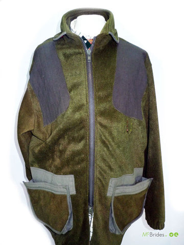 Deerhunter Shooting Jacket Green Fleece XL