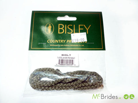 Bisley Twisted lanyard 4 mm