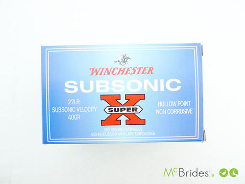 Winchester 40g .22 S/Sonic