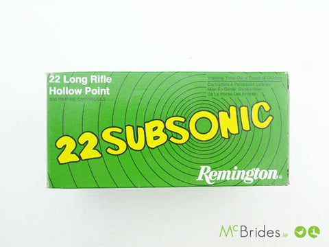 .22 LR Subsonic 38g HP