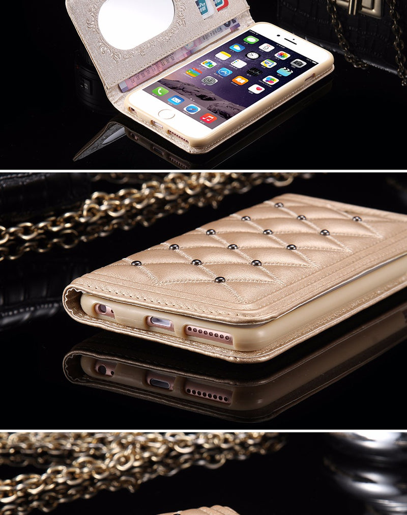 ... Bling Up Your Iphone Today With A New Luxury Case With Built In Wallet  ... 13eb9ee55d68
