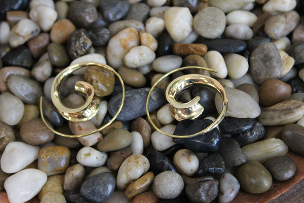 Curl Spiral Earrings