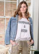 Champagne & Queso Tee
