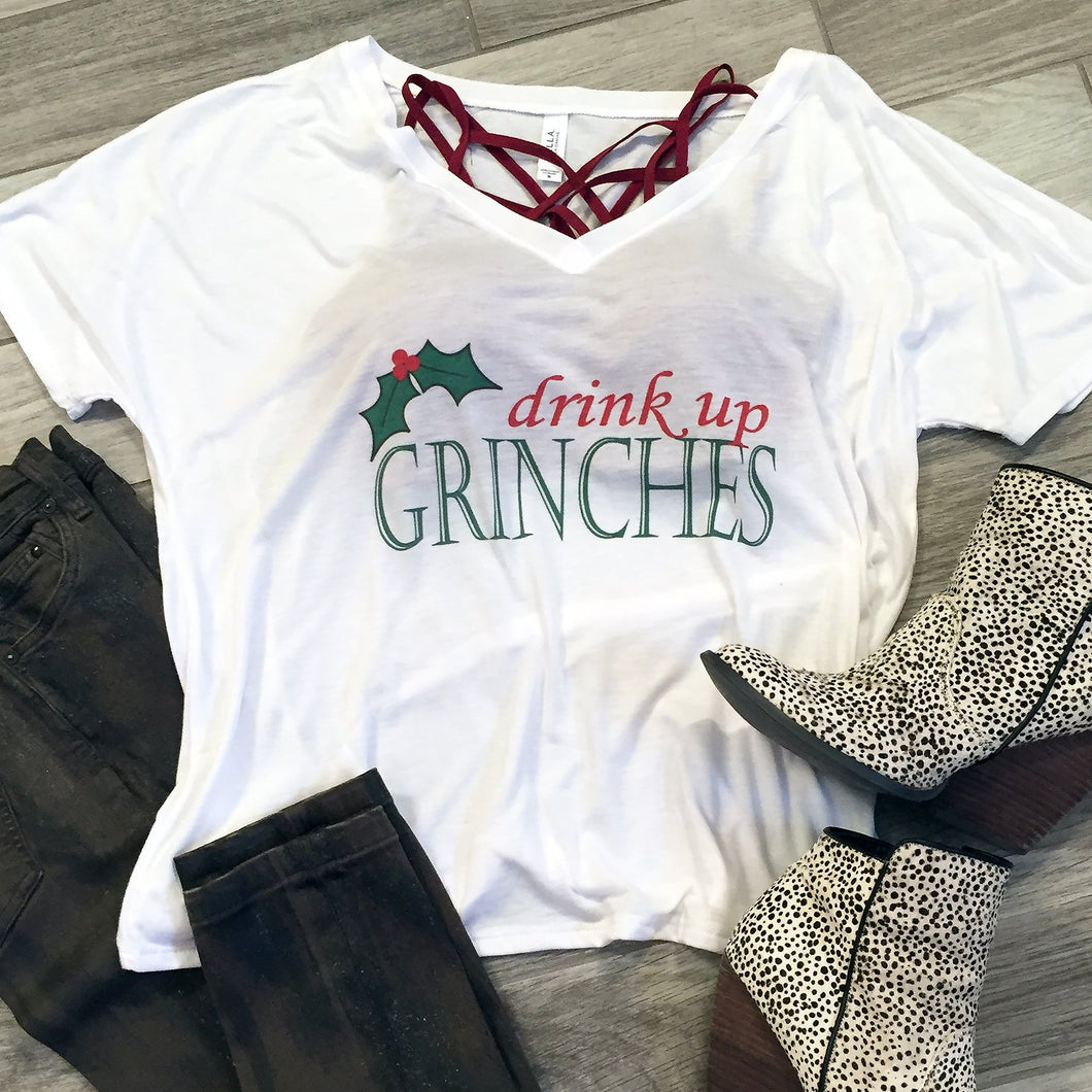 Drink up, Grinches! Flowy Tee