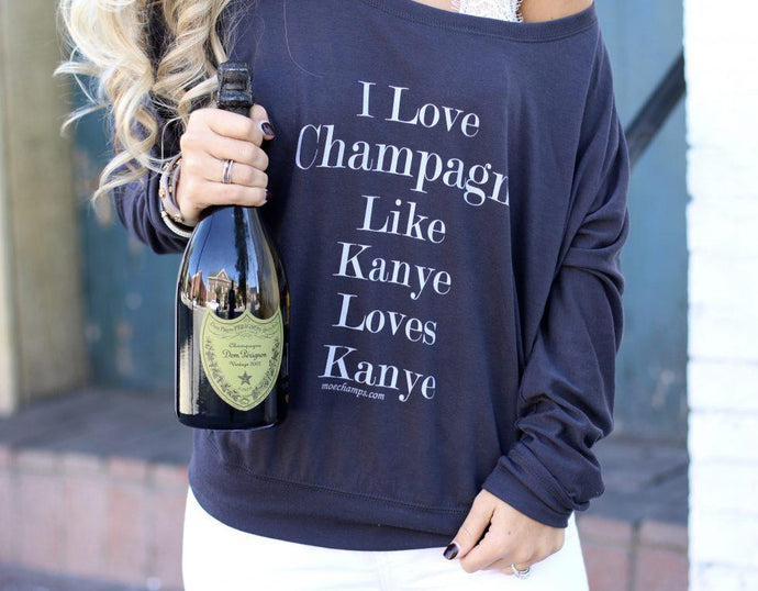 Like Kayne Loves Kayne! Long Sleeve Tee