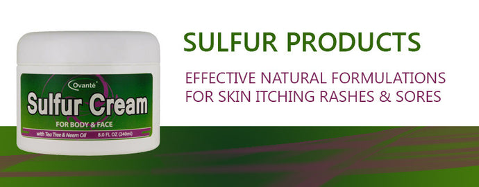 Sulfur products