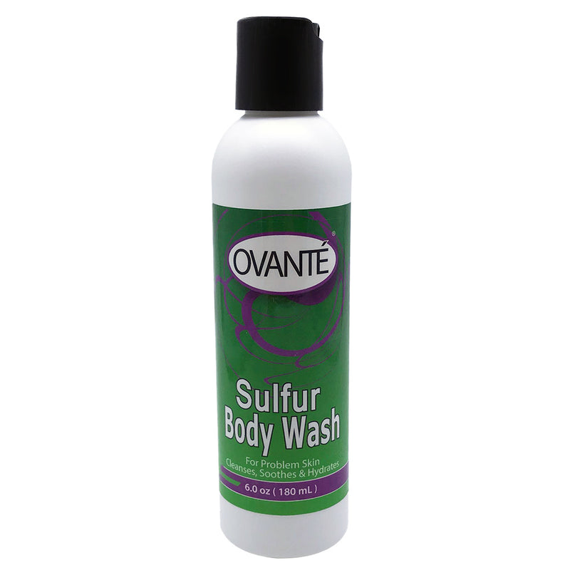 Sulfur Body Wash for Shower and Bath for Itchy Skin  - 6.0 OZ