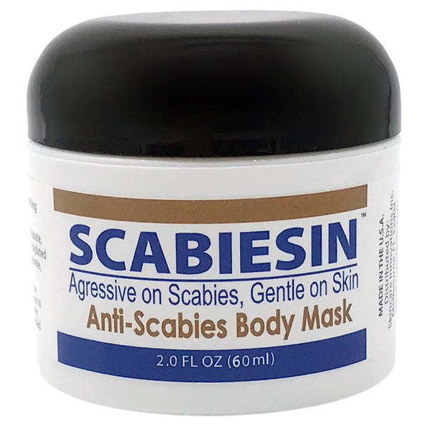 Scabiesin Anti-Scabies Mask  - 2.0 oz JAR.<s class='body'></s>