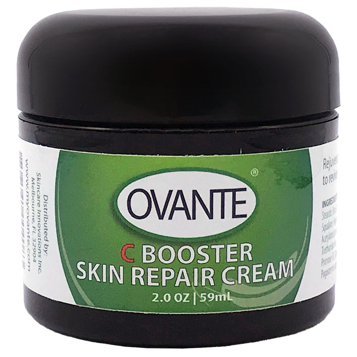 C Booster Skin Repair Cream for Demodex Mite, Rosacea Prone Skin With Tea Tree Oil & Vitamin C    - 2.0 oz <s class='eyes face'>&nbsp;</s>