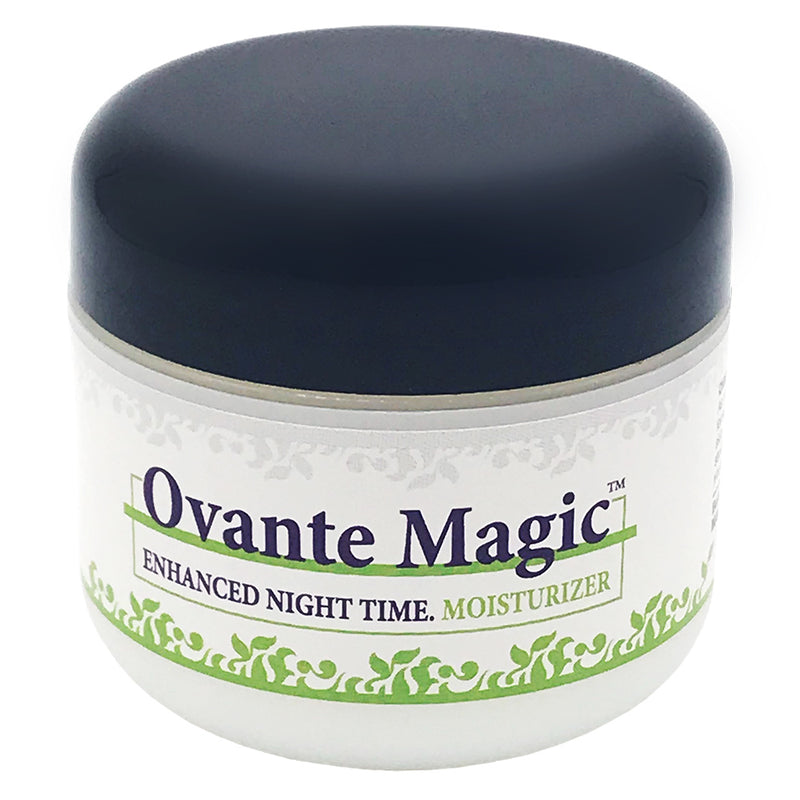 Ovante MAGIC Enhanced Moisturizing Night Cream For Sensitive Demodex and Rosacea Prone Skin - 2.0 OZ - ovante