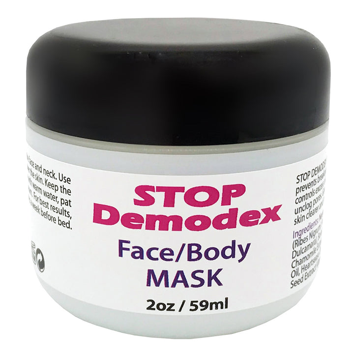 Stop Demodex Face & Body Mask for Human Demodicosis - 2.0 oz