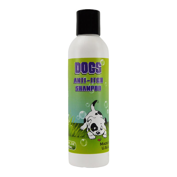 Deodorizing Dog Skin Allergy Relief Shampoo, Medicated With Tea Tree, Neem & Lemongrass Oils, Hypo-Allergic & Soothing, For Dry, Itchy and Sensitive Skin. - ovante
