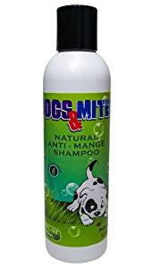 Dogs n Mites Mange Shampoo Stop Skin Itching and Hair Loss, Best Shampoo For Problem Skin, Safe For Dogs and Puppies - 6.0 oz<s class='dogs'></s> - ovante