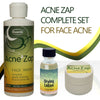 Ovante Acne Zap Daily Regimen, Complete Kit With Medicated Face Wash, Drying Lotion for Spot Treatment, Natural Sulfur Cream - Complete Set of Acne Products  <s class='sets'>&nbsp;</s> - ovante