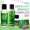 Demodex Control Complete Kit  for Treatment of Demodex Prone Facial Skin, Eyelids & Eyelashes. - ovante