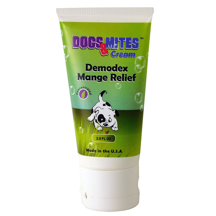 Dogs n Mites Cream For Dry, Itchy, Red, Scaly, Chapped Skin, Hot Spots, Oust Demodex mange.<s class='dogs'></s> - ovante