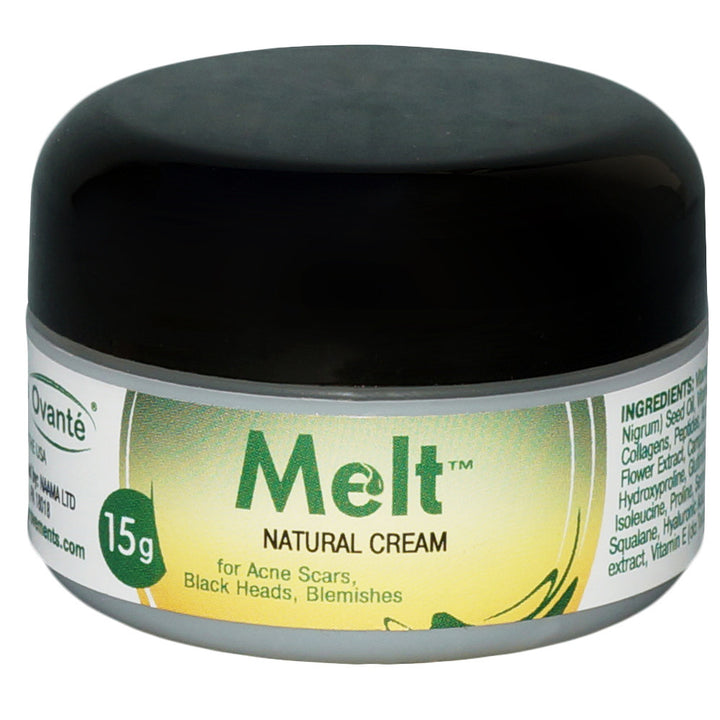 MELT - Vit C Face Cream for Acne Scars, Post Demodex Marks, Black Heads, Facial Redness, Skin Irritation - 0.5 OZ <s class='face'>&nbsp;</s> - ovante