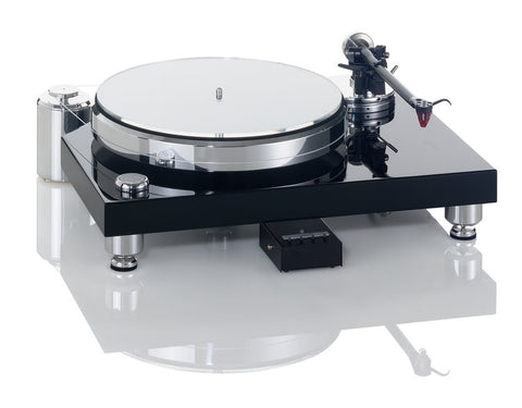 Solid Classic Wood (Black) w/ WTB-370 Tonearm & MP110 Cartridge