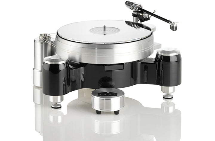 Solid Wood Round w/o Tonearm/Cartridge