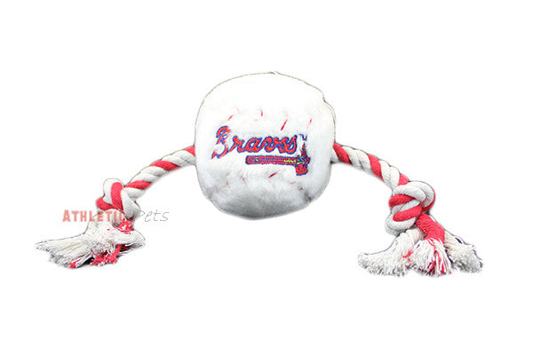 Atlanta Braves Baseball Plush Rope Toy