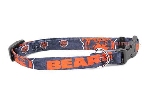 Chicago Bears Dog Collar (Discontinued)