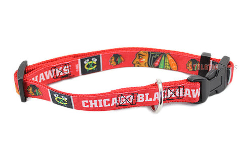 Chicago Blackhawks Premium Dog Collar (Discontinued)