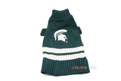 Michigan State Spartans Dog Sweater