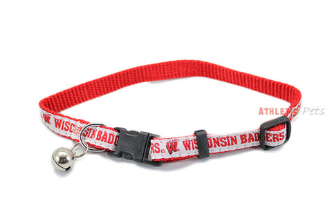 Wisconsin Badgers Cat Collar