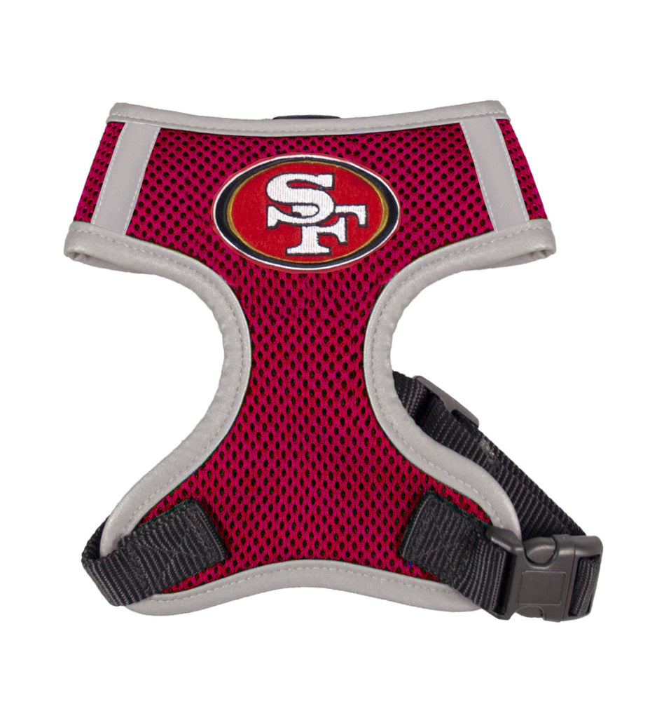 San Francisco 49ers Dog Vest Harness