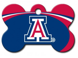 Arizona Wildcats Dog ID Tag