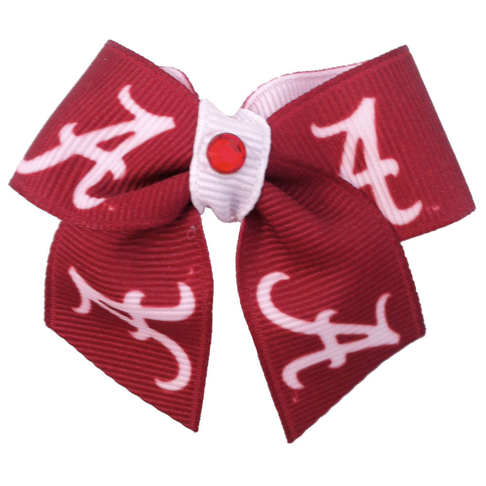 Alabama Crimson Tide Dog Hair Bow