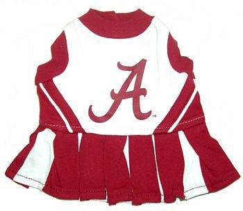 Alabama Crimson Tide Dog Cheerleader Uniform