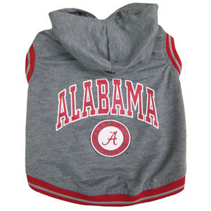 Alabama Crimson Tide Dog Hoody T-Shirt